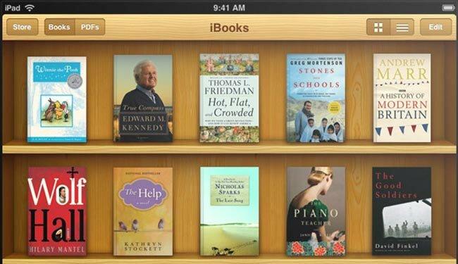 iPad обзор iBook