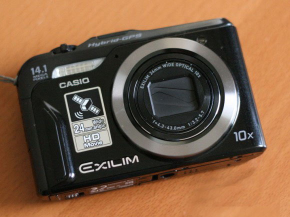 Обзор: Casio EX-H20G камеры с Hybrid GPS