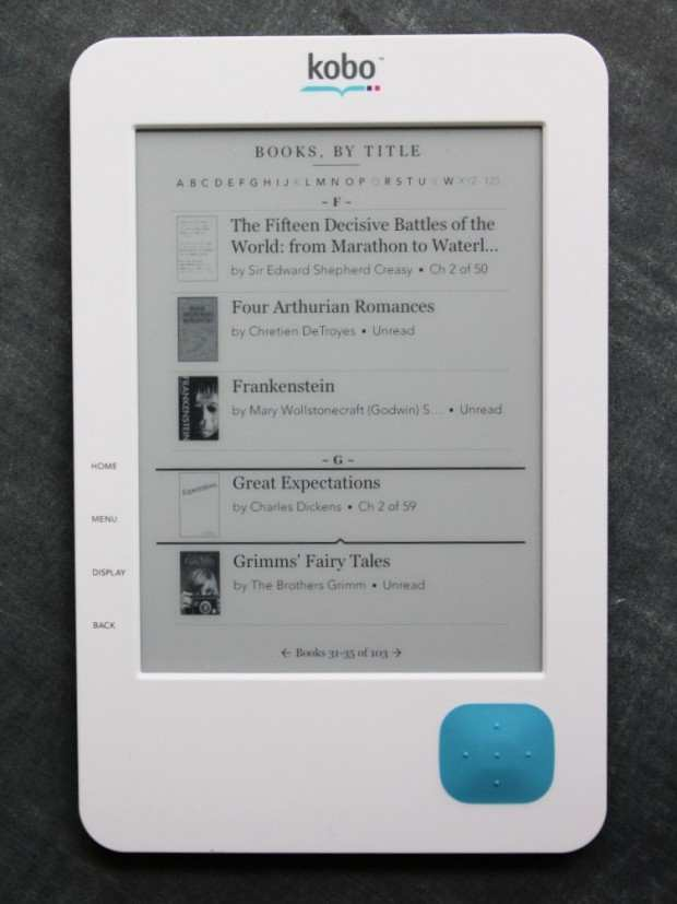 купить Kobo Wireless eReader