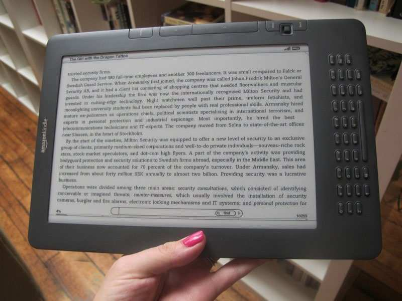 Amazon Kindle DX отзывы