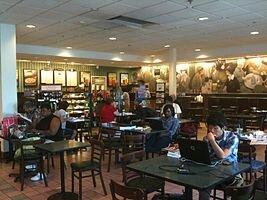 Кафе в магазине Barnes & Noble, город Спрингфилд, Нью-Джерси
