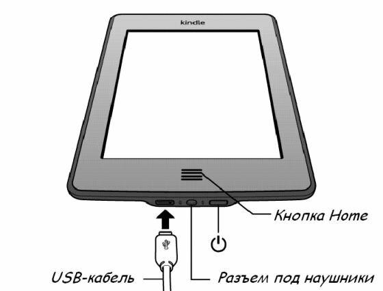 Описание работы с Kindle Touch