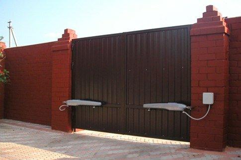 Автоматические ворота с мобильной системой управления