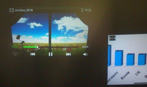 Обзор Samsung Galaxy Beam