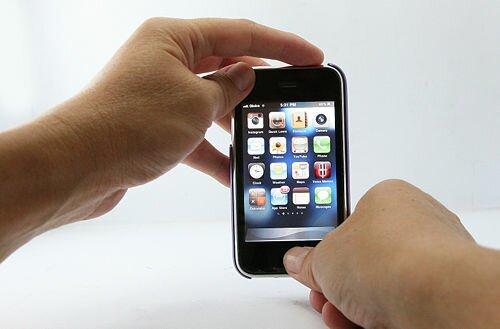 завис iPhone 4 описание hard reset 1