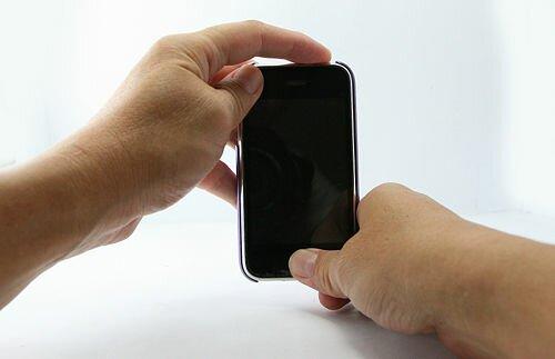 завис iPhone 4 описание hard reset