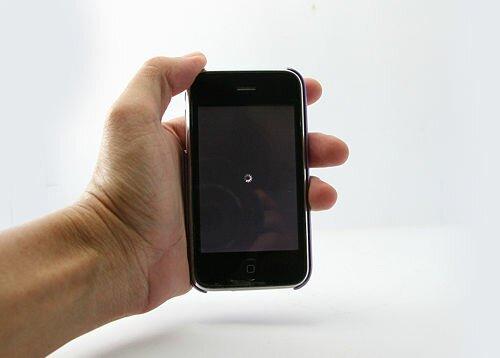 завис iPhone 4 как сделать хард ресет