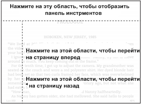 Kindle Paperwhite горизонтальный режим