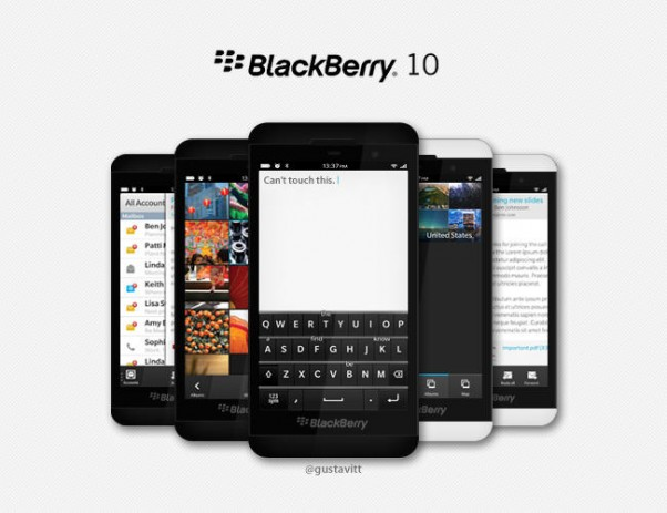 Обзор BlackBerry 10