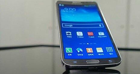 Samsung Galaxy Round Обзор