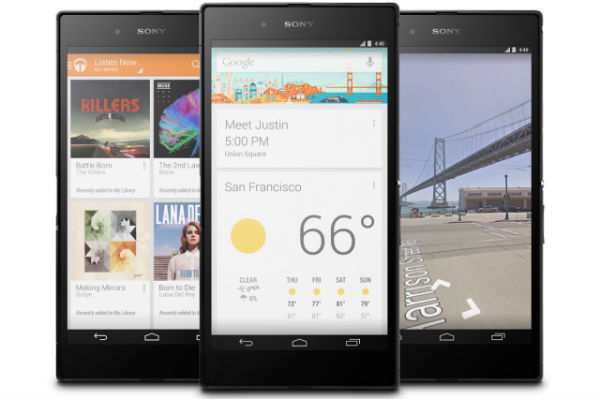Google презентовал Sony Z Ultra Google Play Edition