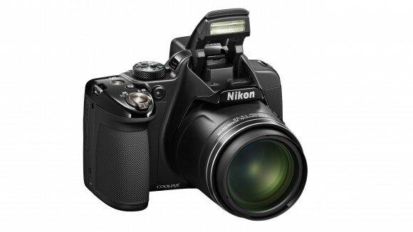 Nikon P530 вид спереди