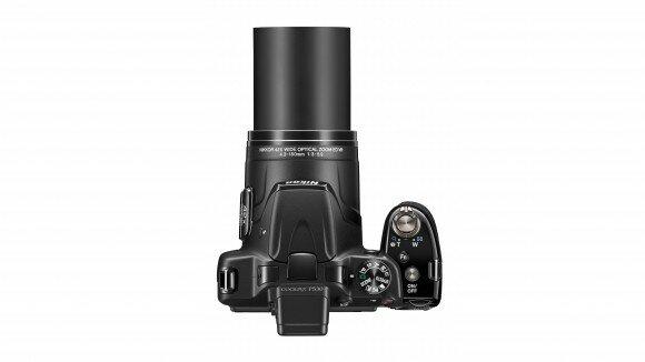 Nikon P530 вид сверху