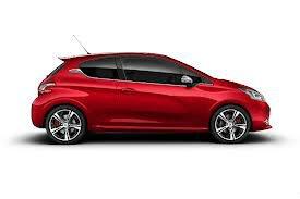Лучший Городской Автомобиль 2014 Года Peugeot 208