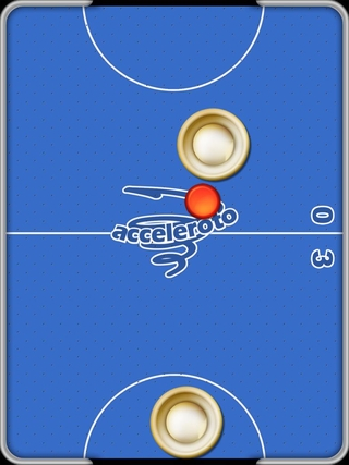 игра для ipad 2014 Air Hockey Gold