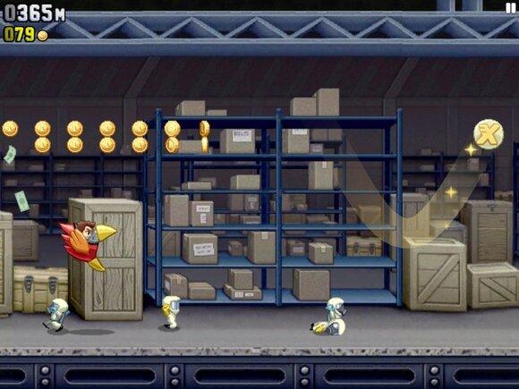 игра для ipad 2014 Jetpack Joyride
