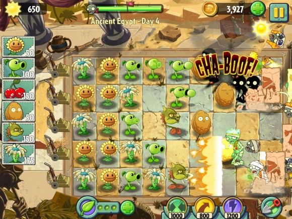 игра для ipad 2014 Plants vs. Zombies 2
