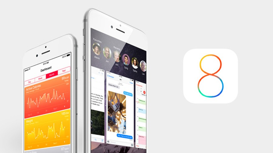 iOS 8 iPhone 6