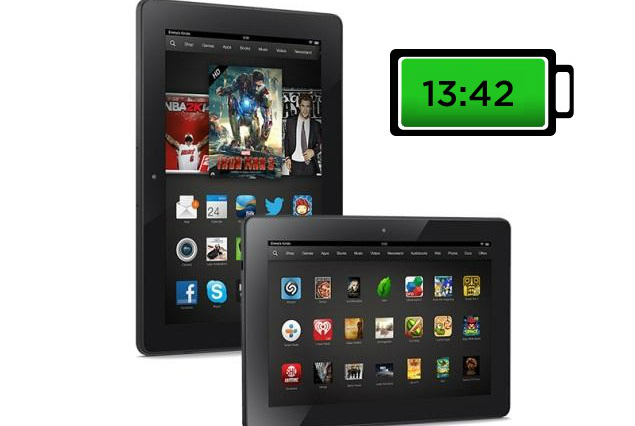 Amazon Kindle Fire HDX (8.9-inch) - Батарея
