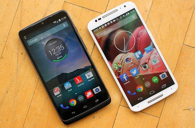 Смартфоны Motorola Droid Turbo и Moto X