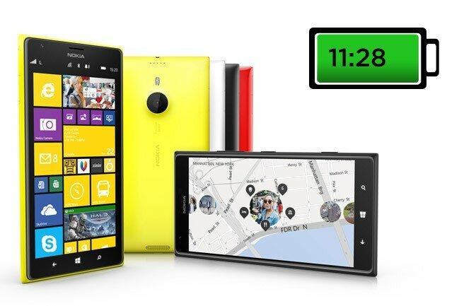 Nokia Lumia 1520 - Батарея