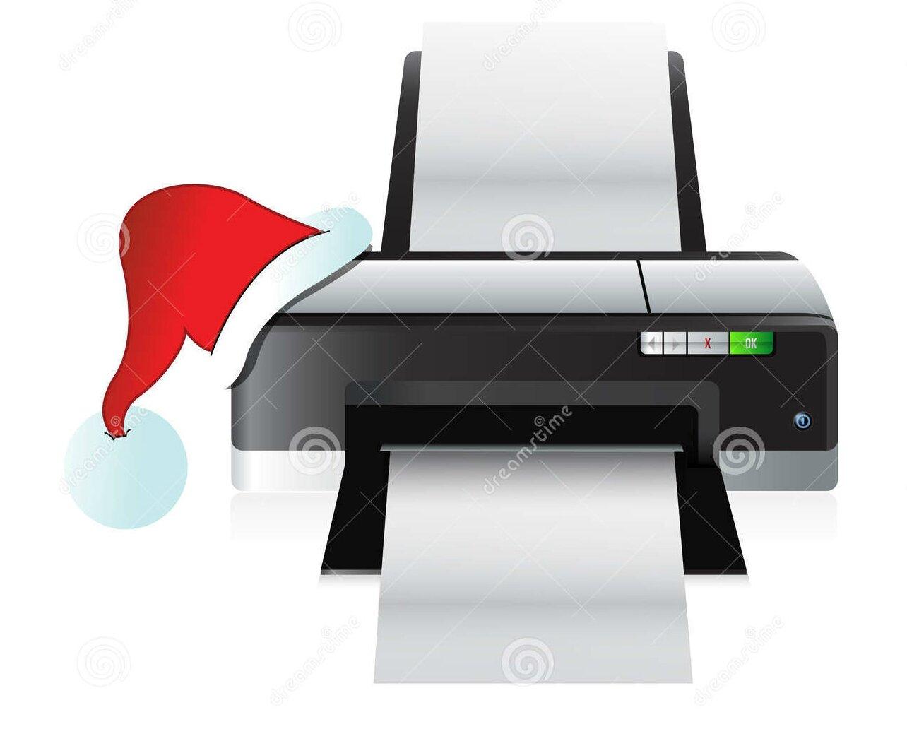 Принтер в подарок на Новый Год 2015