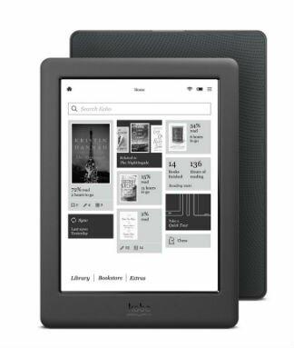 Электронная Книга Kobo Glo HD