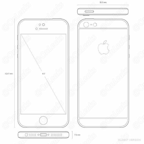 Внешний вид двух прототипов iPhone SE