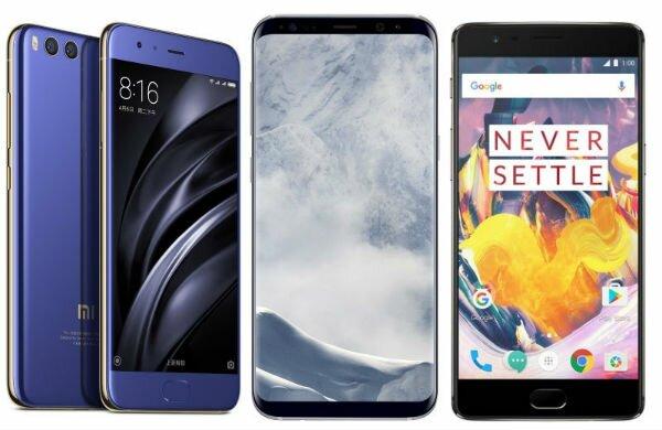 Xiaomi Mi 6 или Samsung Galaxy S8 или OnePlus 3T