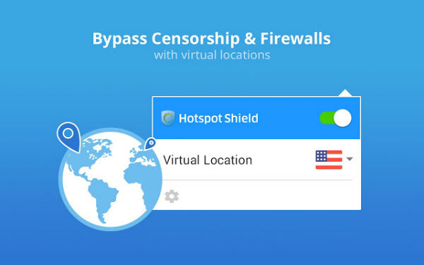 VPN сервис Hotspot Shield Free